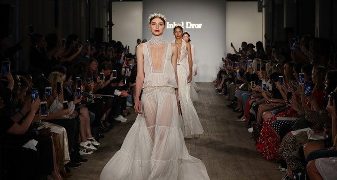 Fall Runaway show with luxurious bridal creations   Inbal Dror 2019