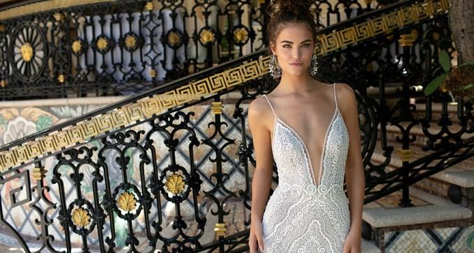 Feel extra glamorous in Berta wedding dresses