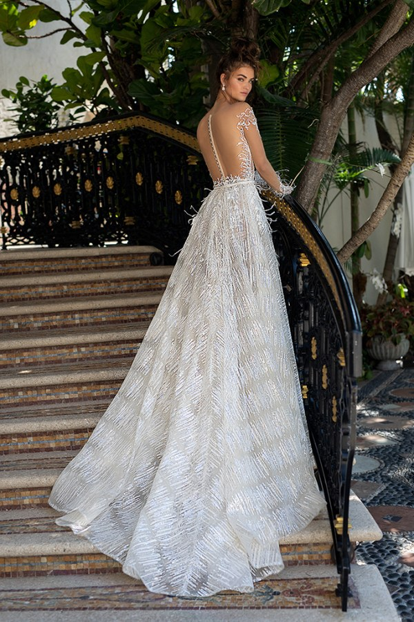 Feel extra glamorous in Berta wedding dresses