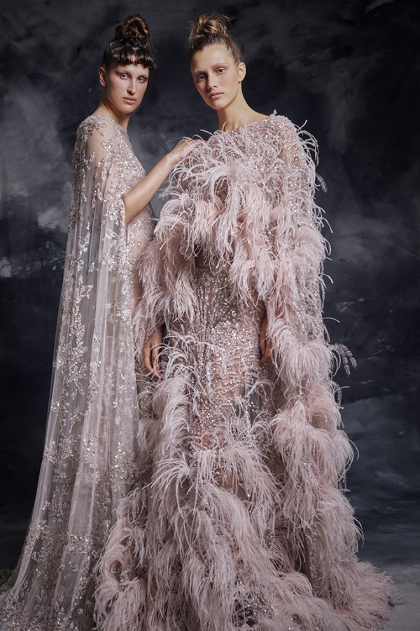 Enchanting luxurious creations for a thrilling look | Krikor Jabotian Fw 2019-2020