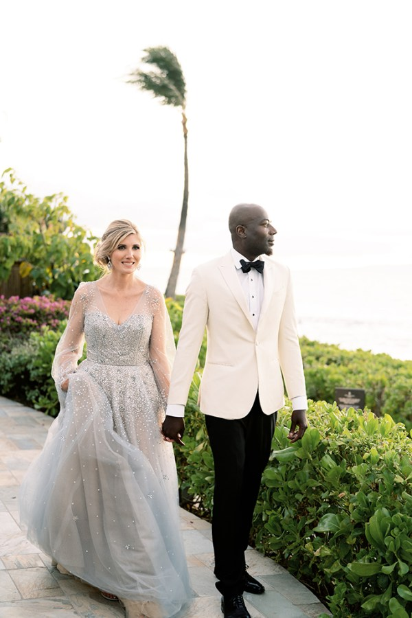 Gorgeous chic romantic wedding in Hawaii │Harmony & Bayo