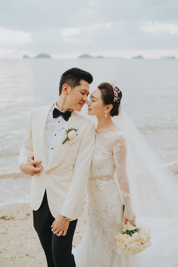 Lush tropical wedding in Thailand | Fifi & Patrick