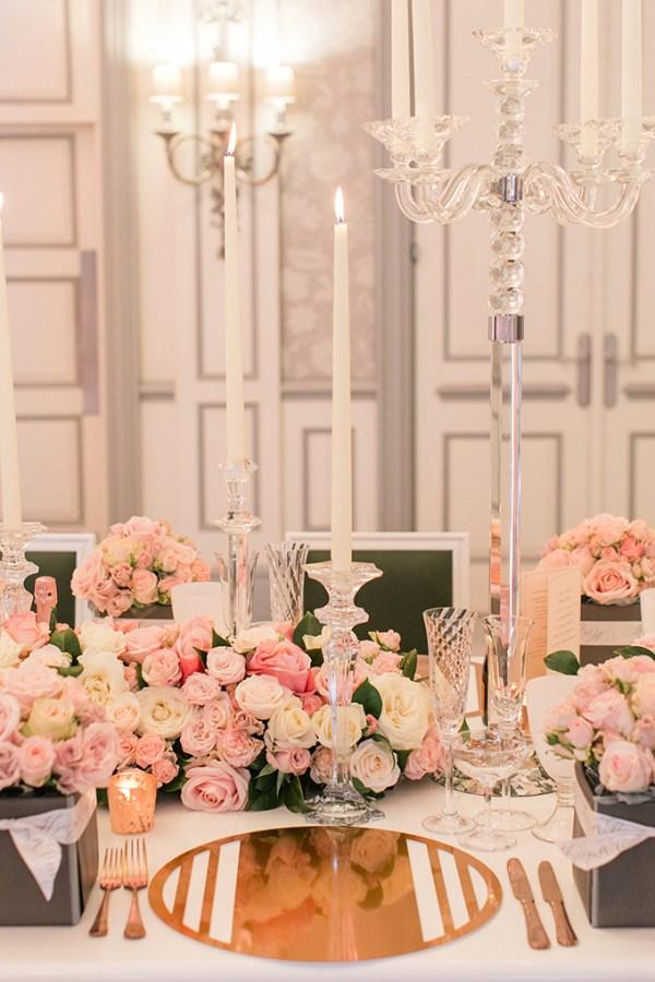 Luxurious wedding table decoration ideas